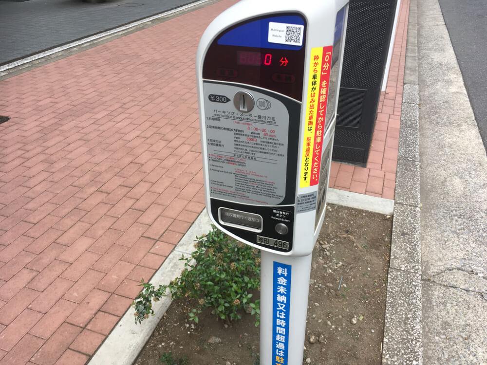 【九段下駅周辺】おすすめパーキングメーター情報