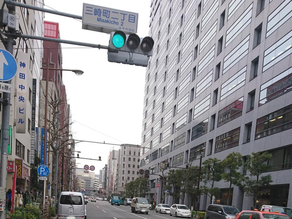 【九段下駅周辺】パーキングメーター⑤